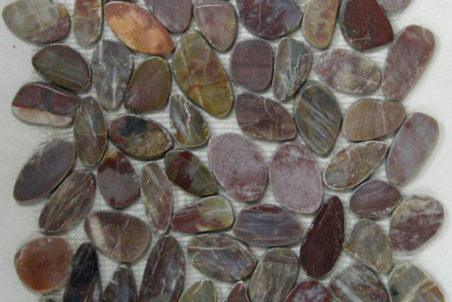 Мозаика каменная - Flat Red Jack