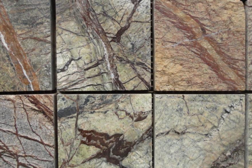 Мозаика каменная - Сланец Forest brown
